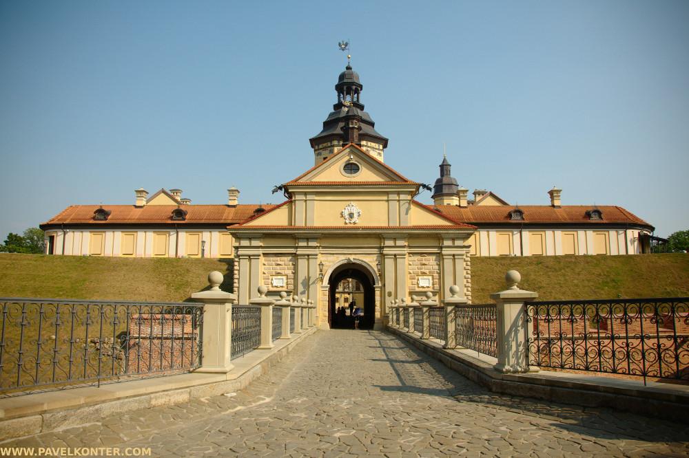 Białoruś - zamek w Nieświeżu